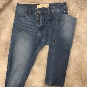 Jean legging high rise